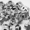 316L Stainless Steel Push in Fitting - Male Connector
